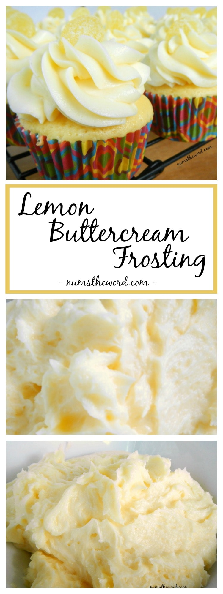 Lemon Buttercream Frosting