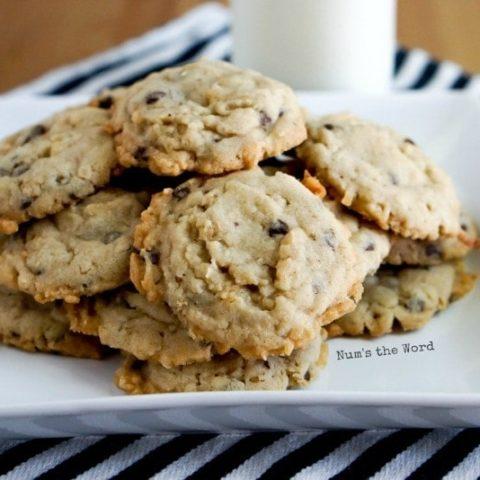 Krispy Coconut Oatmeal Cookies image