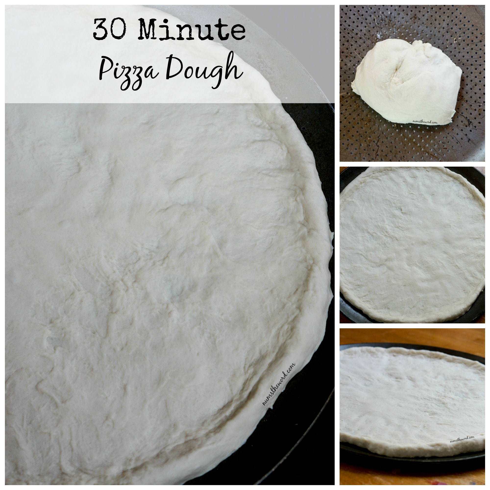 30 Minute Pizza Dough