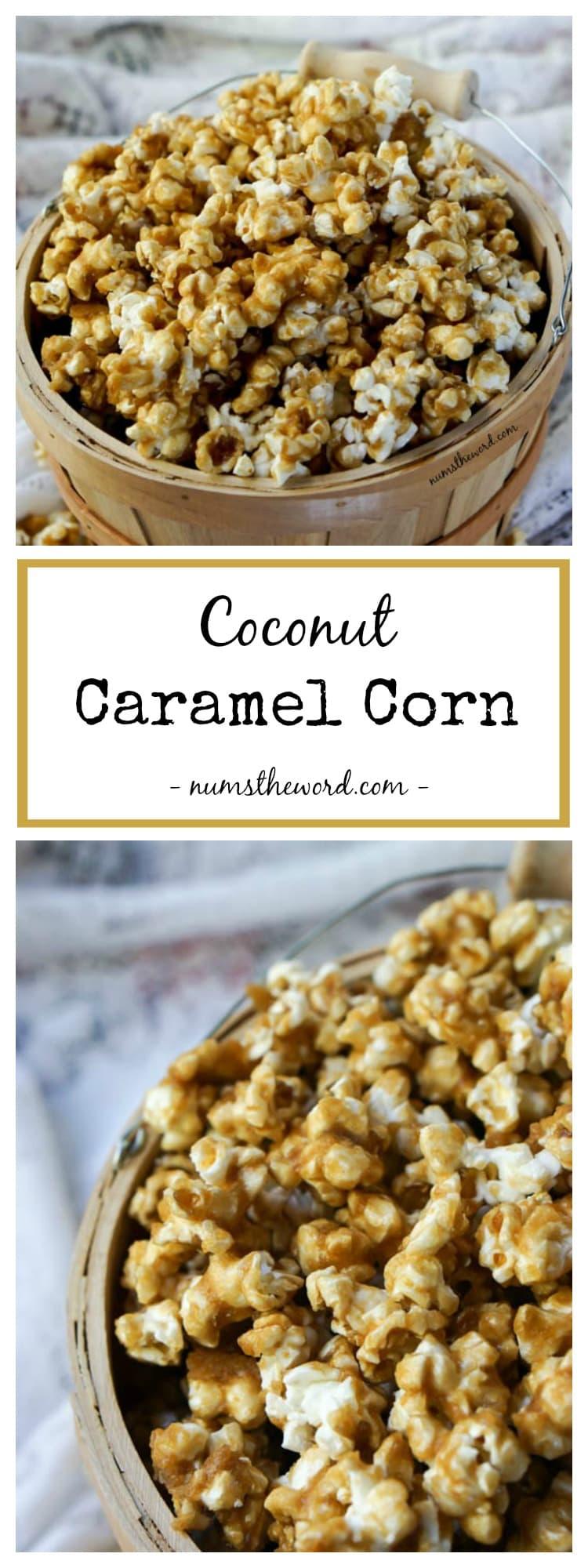 Coconut Caramel Corn