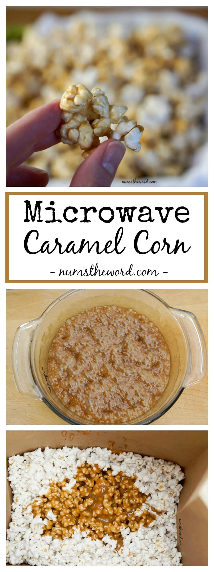 Microwave Caramel Corn is officially your new favorite go to caramel ...