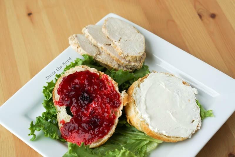 The Best Turkey & Cranberry Sandwich