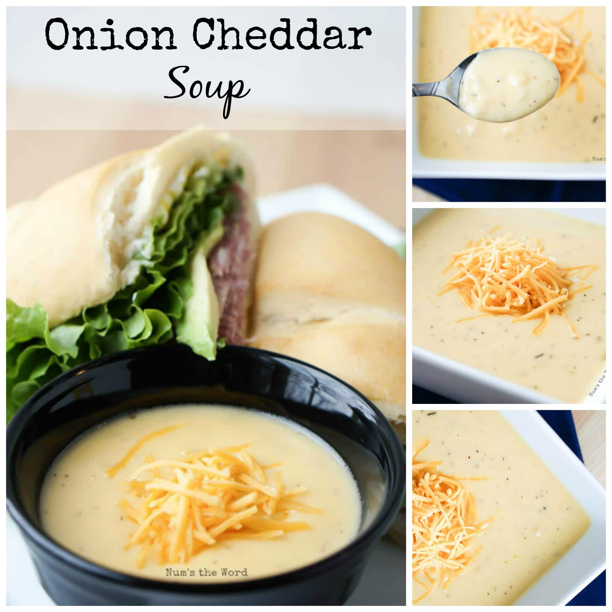 Onion Cheddar Soup