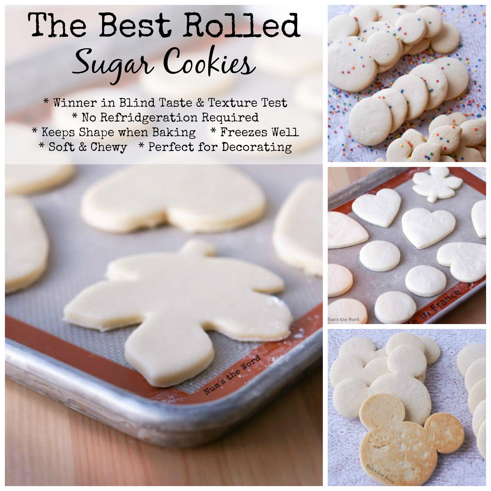 The Best Rolled Sugar Cookies - NumsTheWord