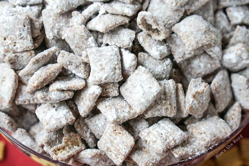Puppy Chow Chex Mix Nums The Word