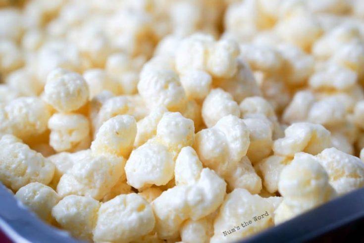 White Chocolate Puffcorn Num S The Word
