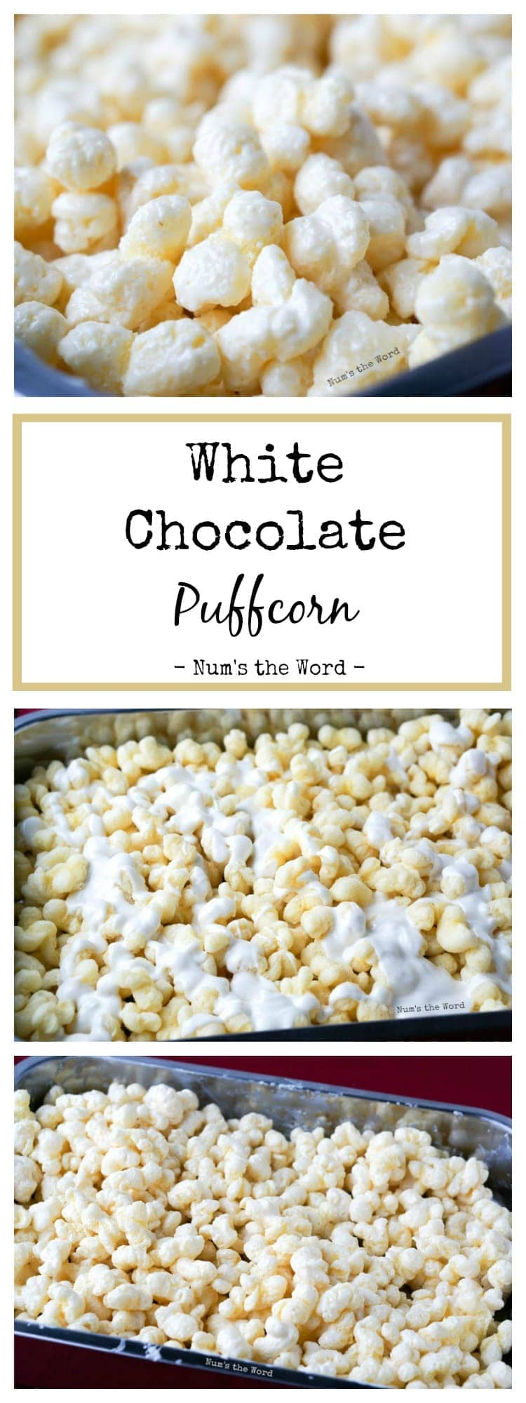 Christmas Popcorn Recipes.White Chocolate Puffcorn Num S The Word