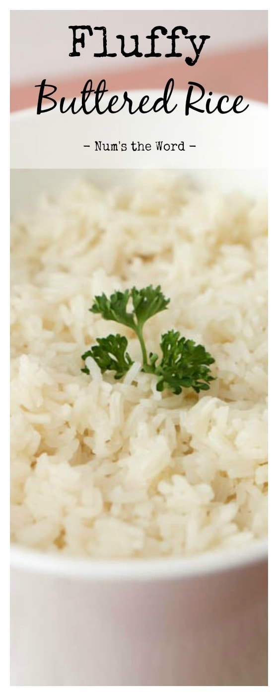 Fluffy Buttered Rice