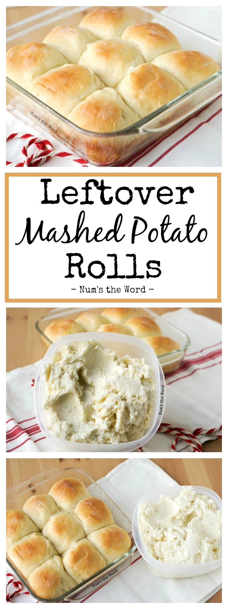 Leftover Mashed Potato Rolls