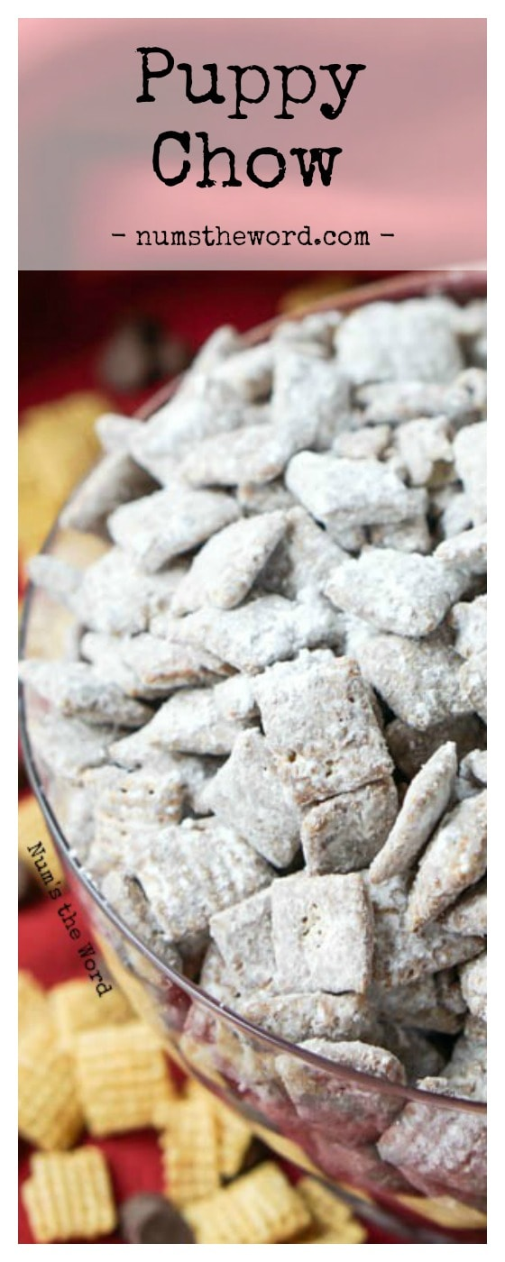 Puppy Chow Chex Mix