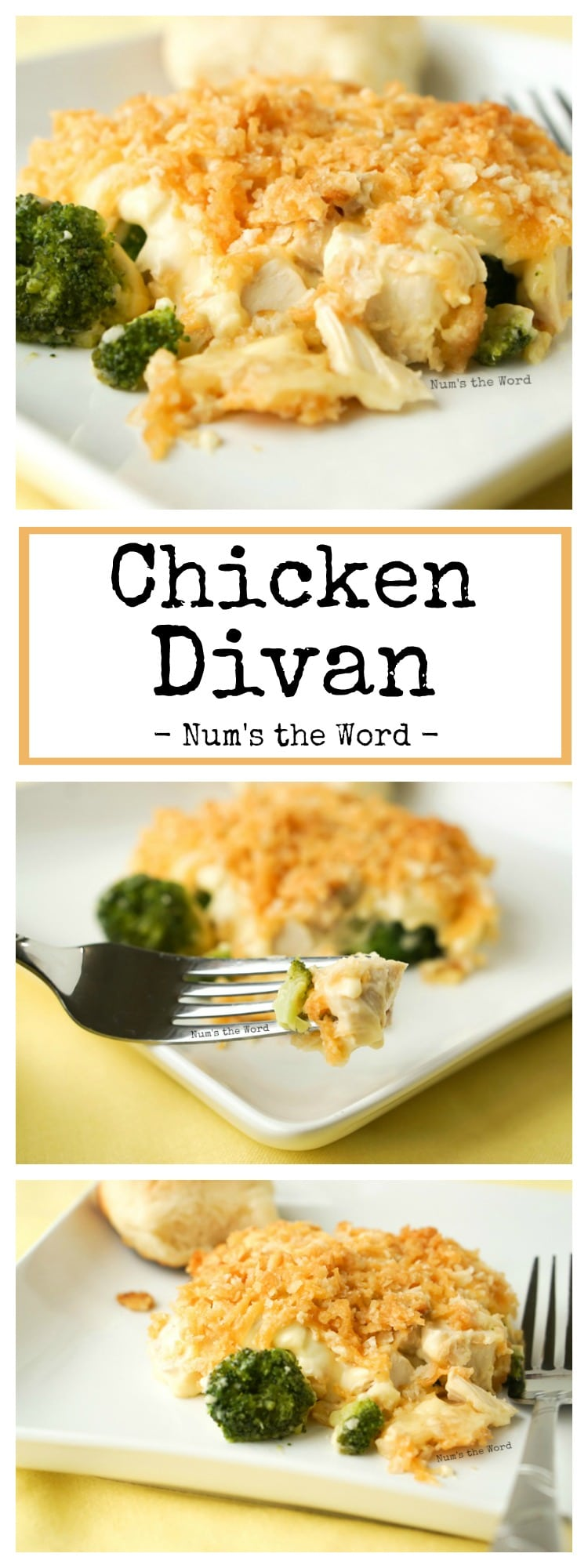 Chicken Divan Casserole Num S The Word