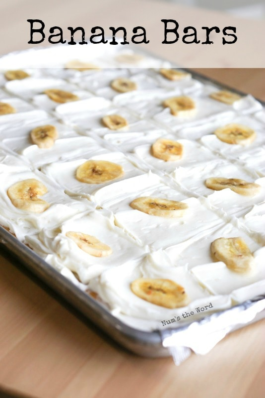 The Best Banana Bars