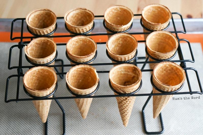 Cupcake Ice Cream Cones