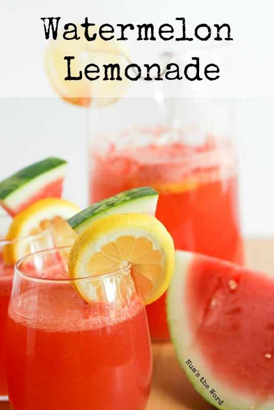 Watermelon lemonade Main image shot for website