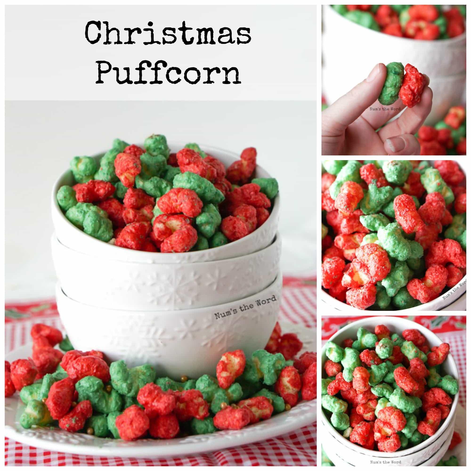 Christmas Puffcorn -