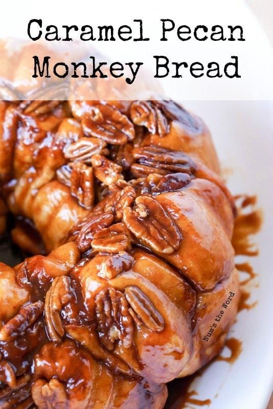 Caramel Pecan Monkey Bread - main image for recipe