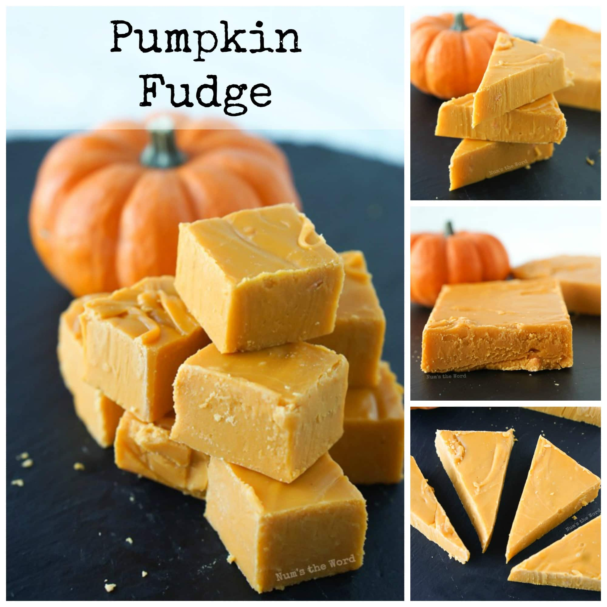 Pumpkin Fudge - NumsTheWord