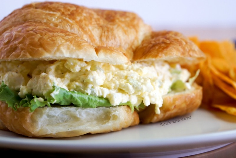 Deluxe Egg Salad Num S The Word