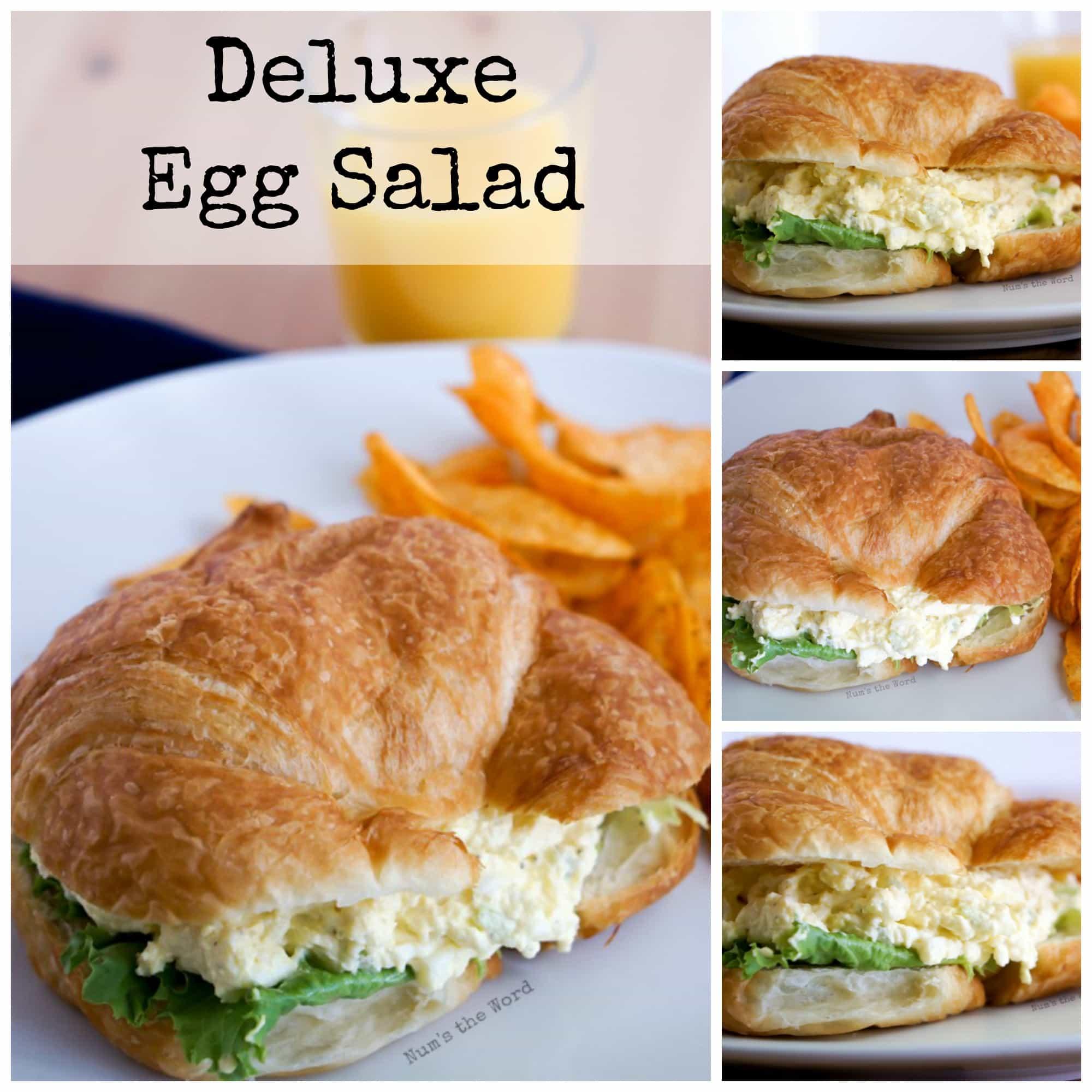 Deluxe Egg Salad - Facebook collage of photos