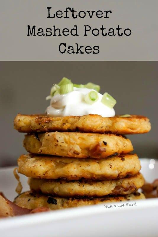 Leftover Mashed Potato Cakes - Main image for recipe