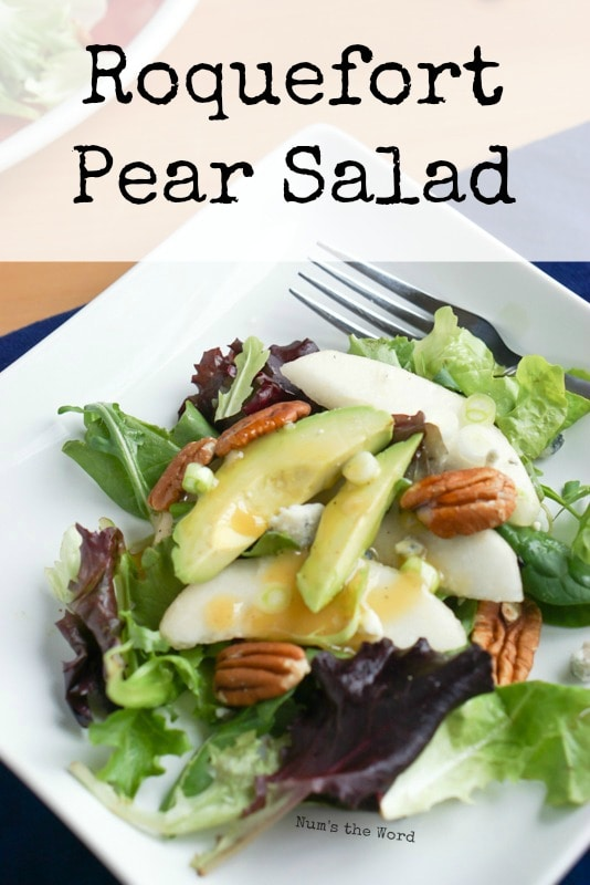 Roquefort Pear Salad - main image for recipe