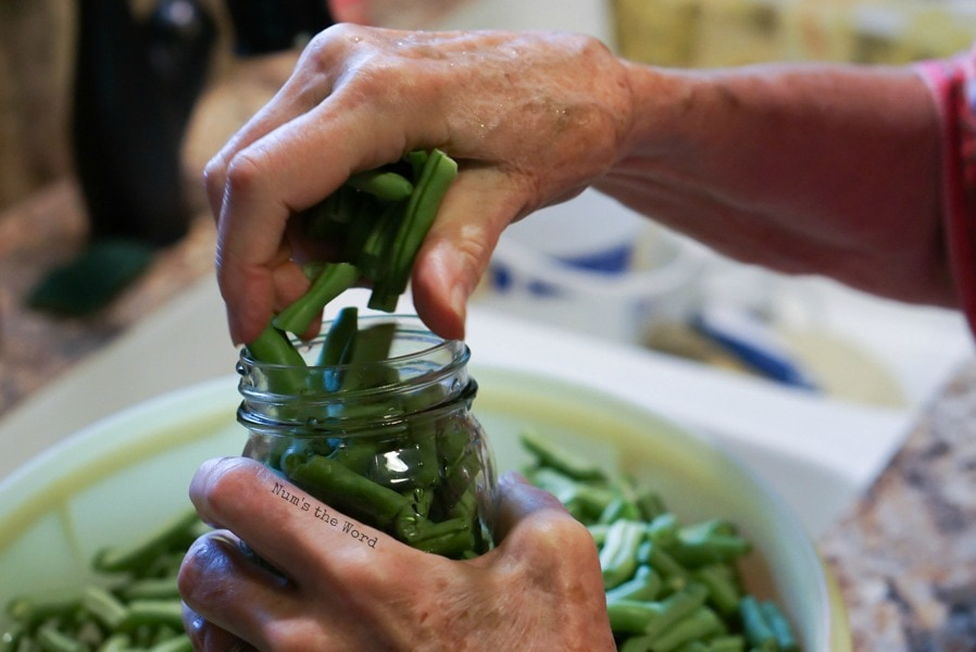 How to Can Green Beans