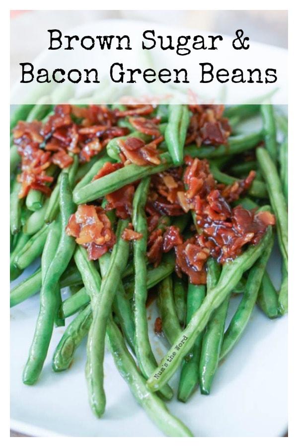 Brown Sugar & Bacon Green Beans - Main image for recipe