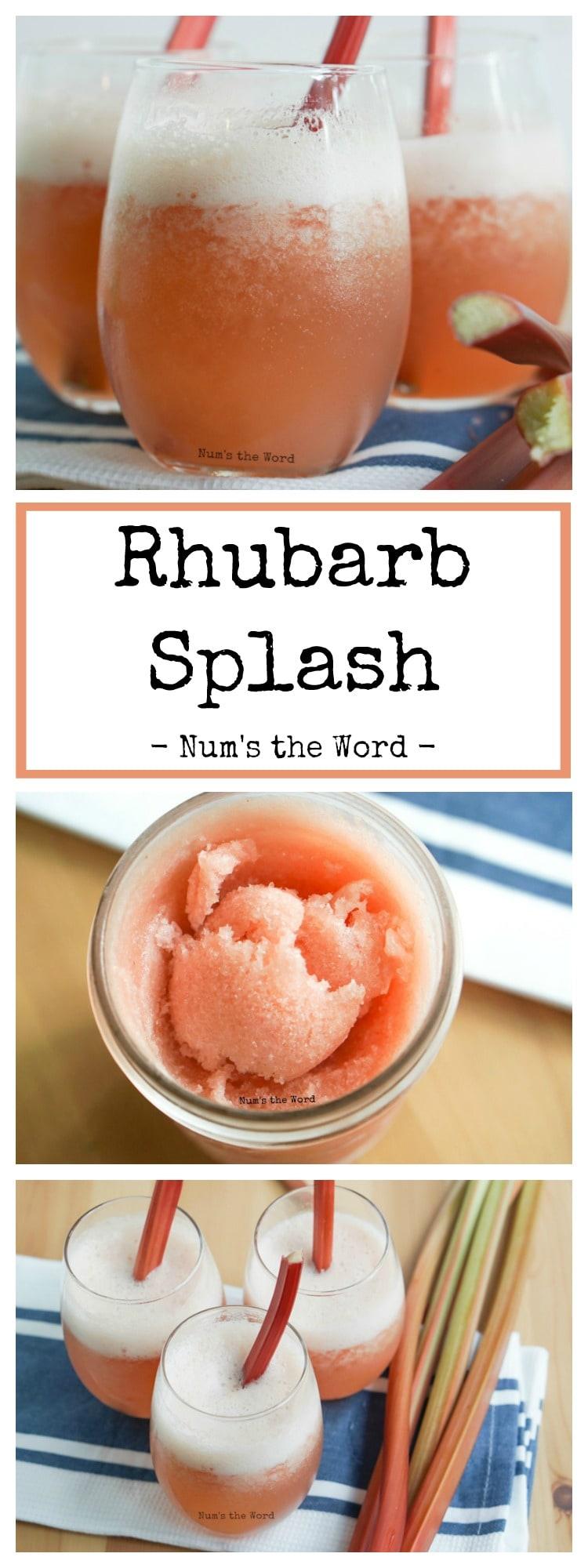 Rhubarb Splash