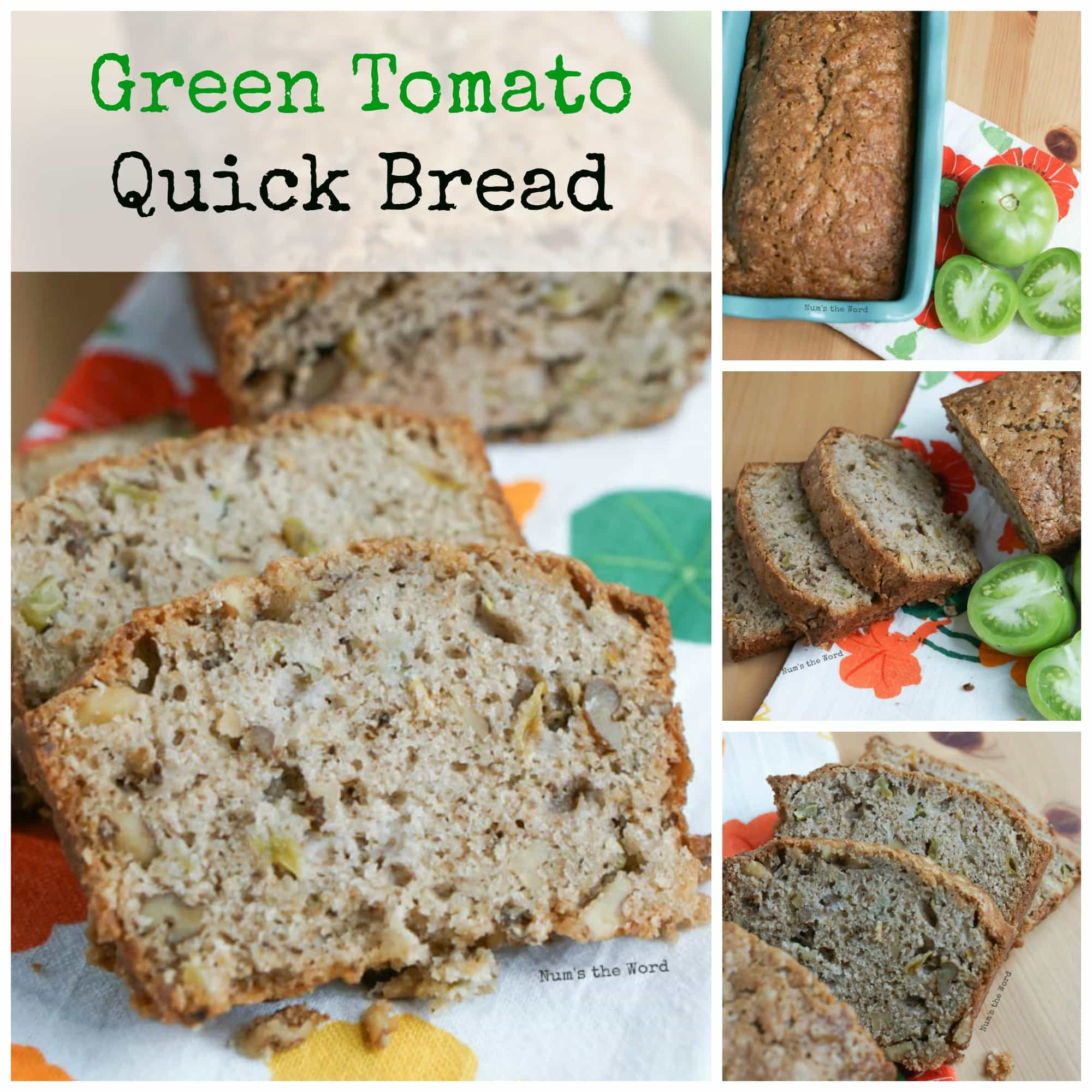 Green Tomato Quick Bread