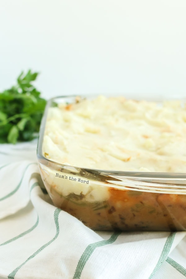 Salisbury Steak Casserole Recipe - casserole fresh out of the oven and ready to eat.