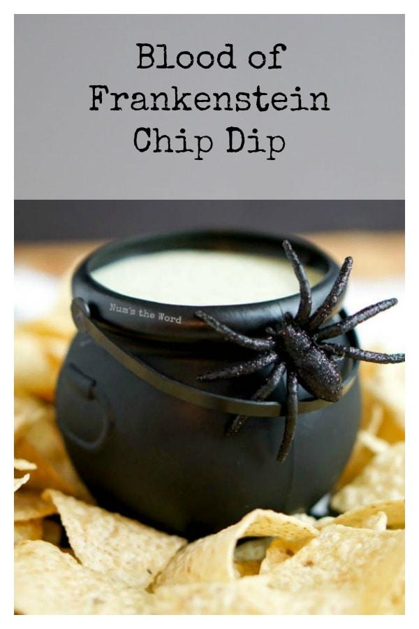 Blood of Frankenstein Chip Dip
