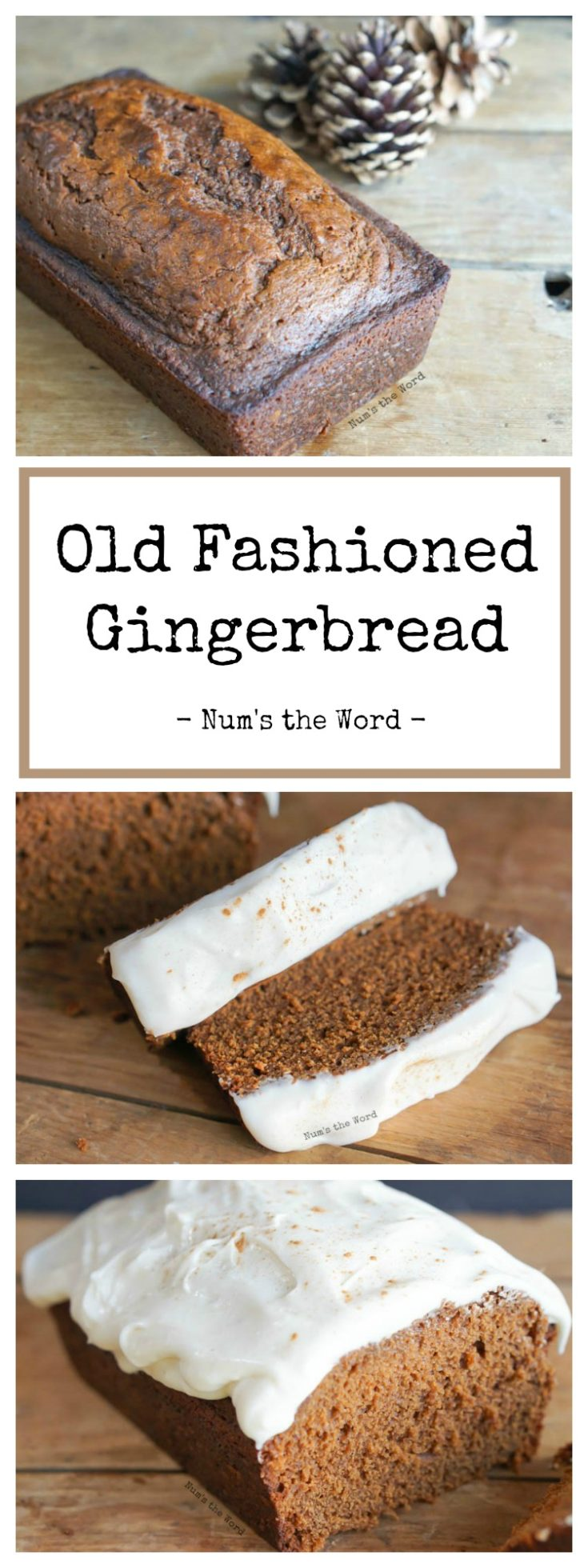 This Old Fashioned Gingerbread has been passed down through the generations and is a family favorite! Make it into a bread for breakfast or a cake for dessert, it's perfect all day long! This copycat version of Starbucks Gingerbread will have you skipping the drive through and making it at home.