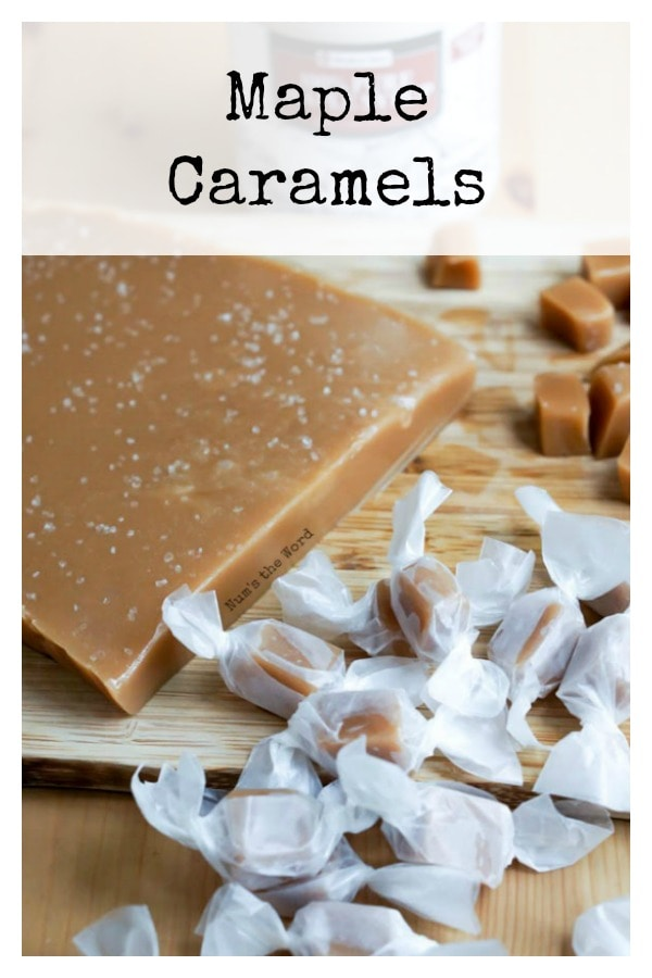Maple Caramels