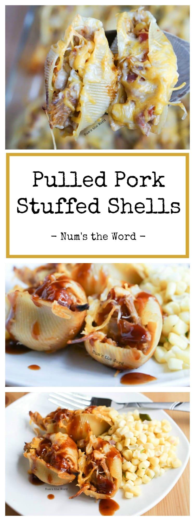 Pulled Pork Stuffed Shells