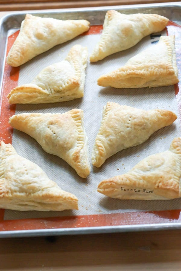 Leftover Thanksgiving Turnovers