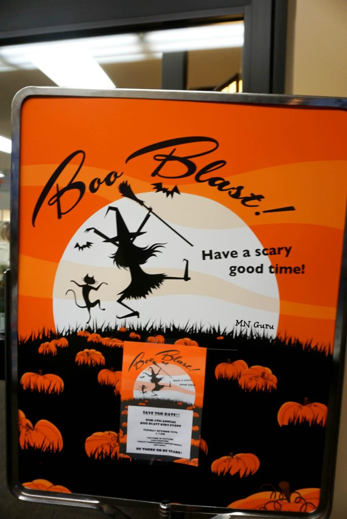 Lunds & Byerlys Boo Blast - Boo Blast Sign