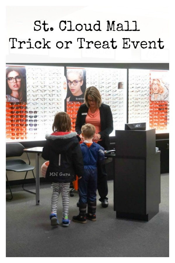 Trick Or Treating At St Cloud Mall Minnesota Guru