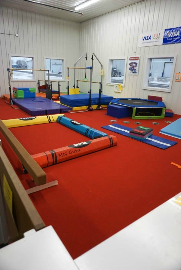 Granite City Gymnastics - toddler area