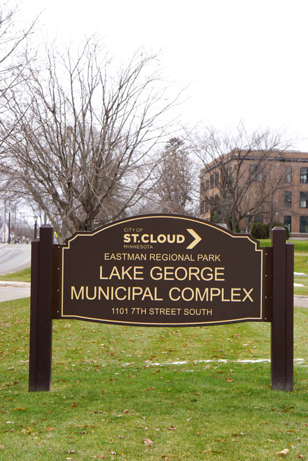 Lake George Municipal Complex - outdoor sign