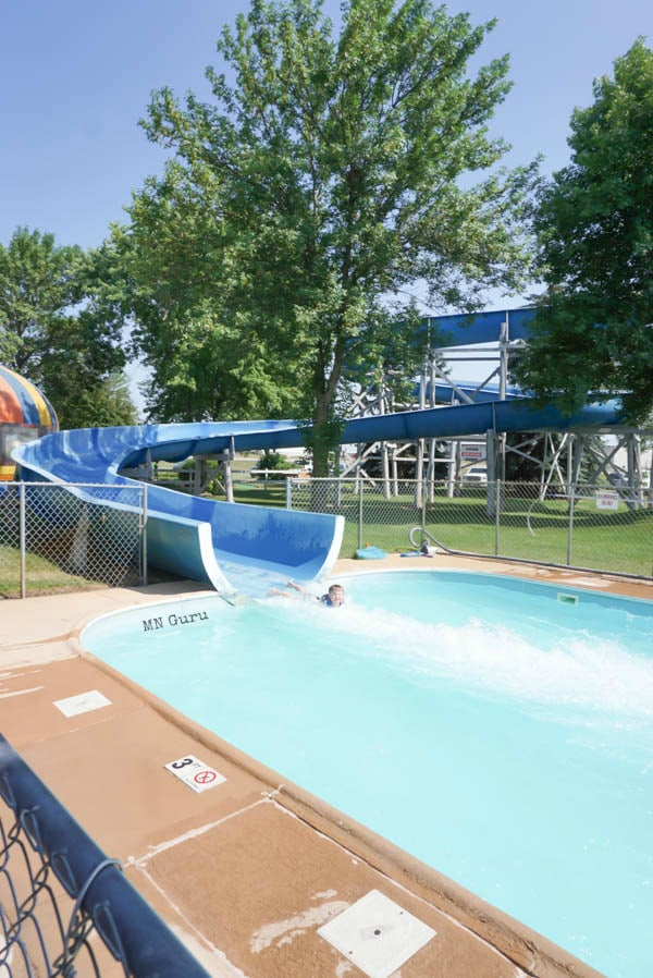 The Slide at Summerland Fun Park