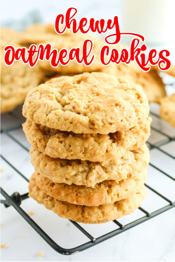 Main image for recipe of cookies stacked up on a cooling rack