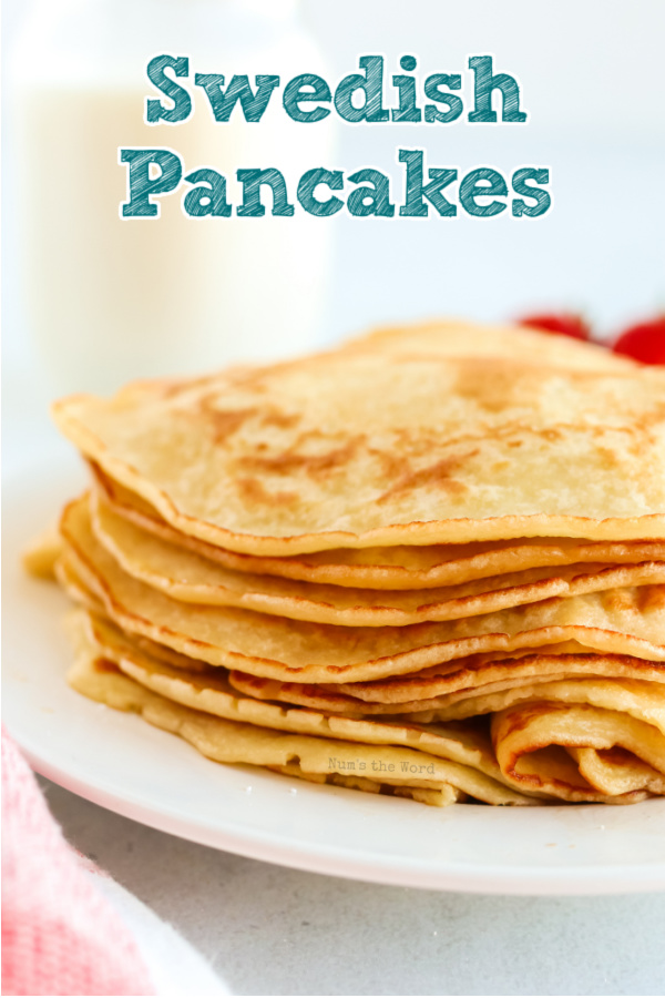 main image of pancakes stacked on plate ready to be eaten
